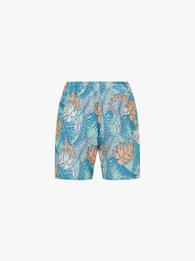 Palmtopia Mid Length Swim Shorts