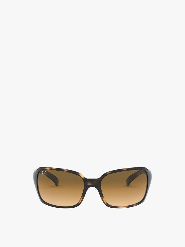 Saddle Bridge Square Wrap Sunglasses