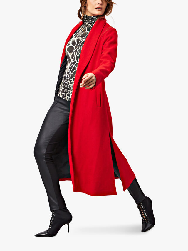 1 Button Long Coat