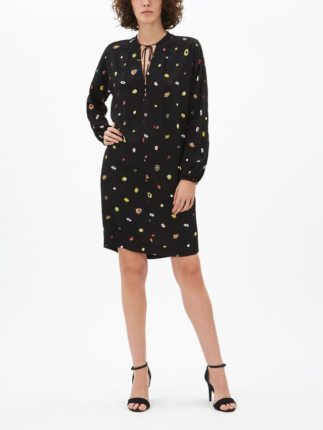Jessica V Neck Tunic Dress
