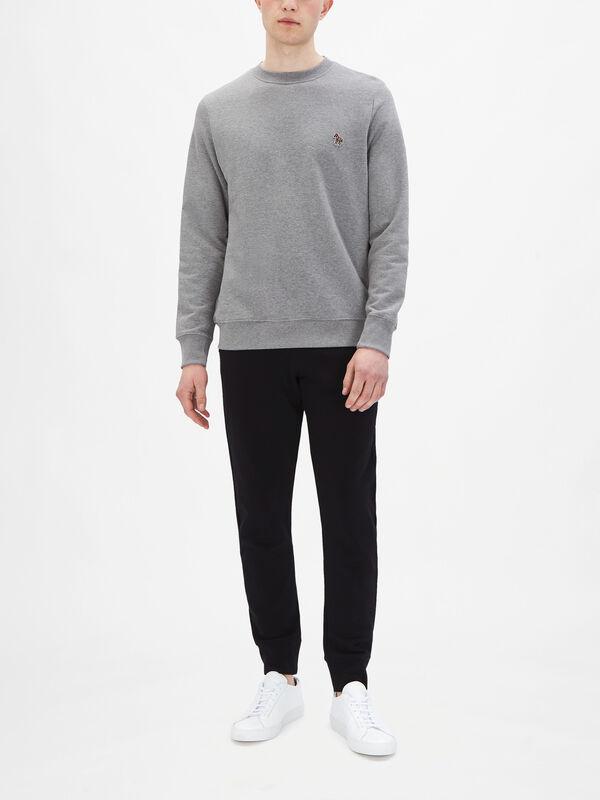 Small Zebra Crewneck Sweatshirt