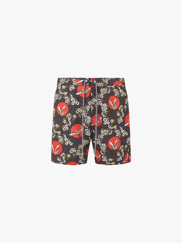 Tanchozuru Tailored Swim Shorts