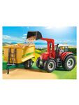 Country Tractor with Feed Trailer