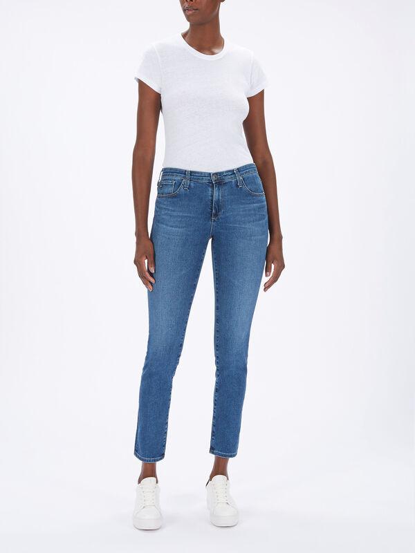Prima Mid Rise Cigarette Jeans