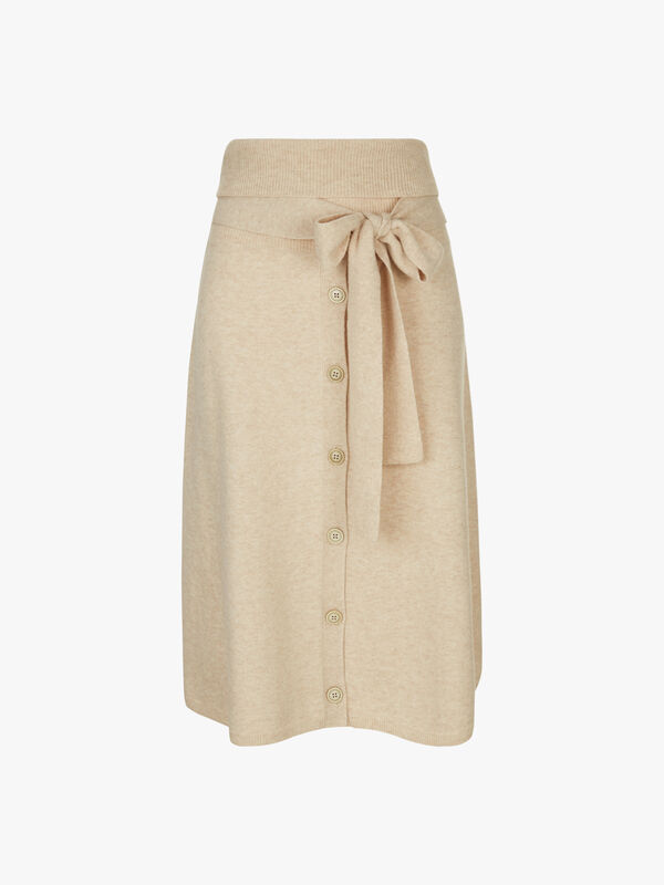 Cosy Wool Knit Skirt