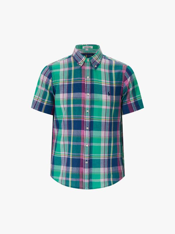 Custom Fit Madras Shirt