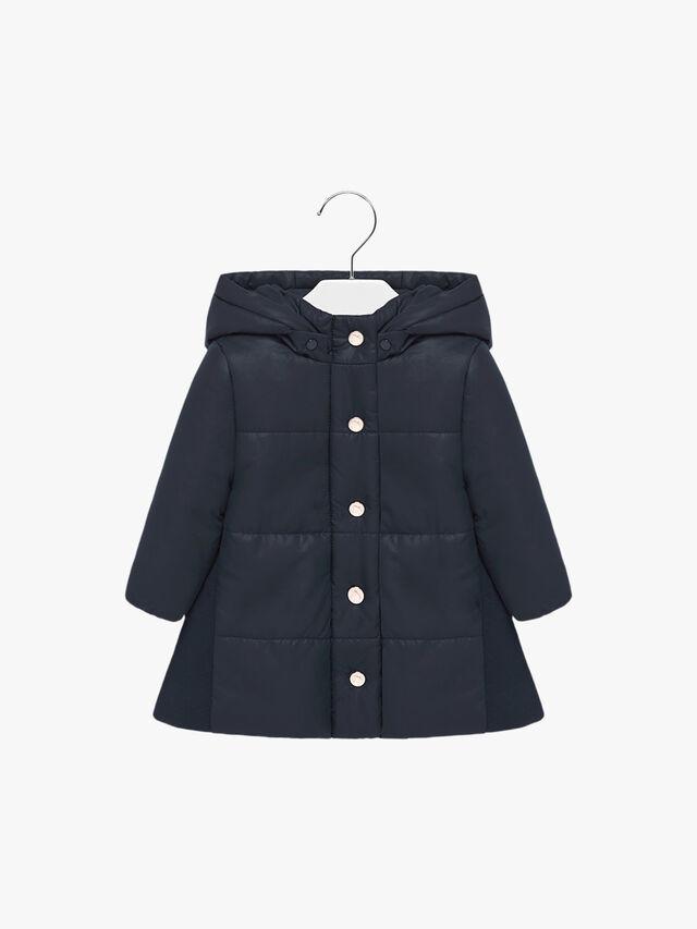 A-Line Hooded Puffa Coat