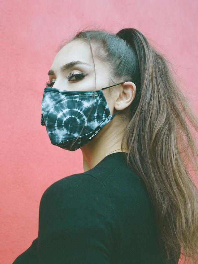 Black Tie Dye Face Mask