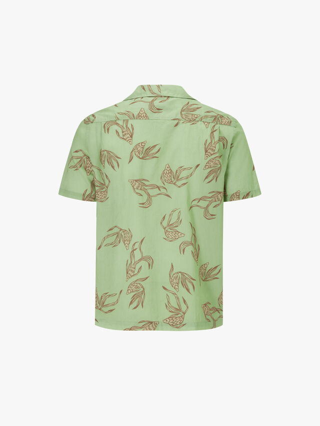 Resort Short Sleeve Fish Shirt