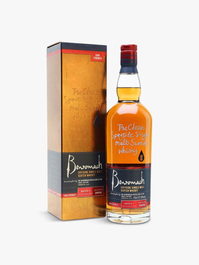 Cask Strength Single Malt Scotch Whisky 70cl