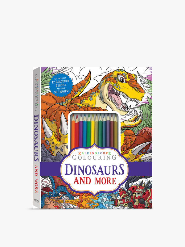 Dinosaurs and More Colouring Kit