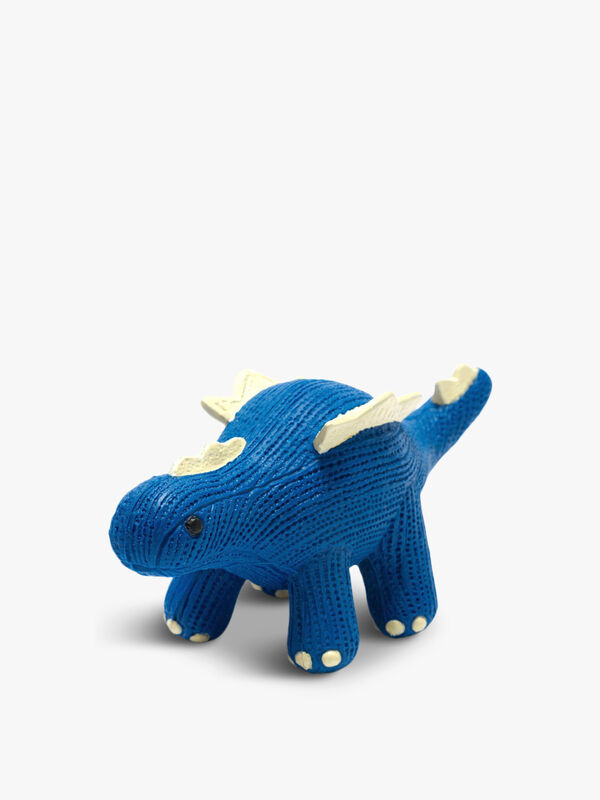Rubber Mini Stegosaurus Teether