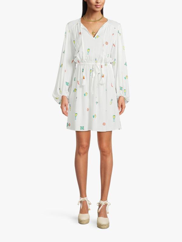 White Chilli Mini Dress