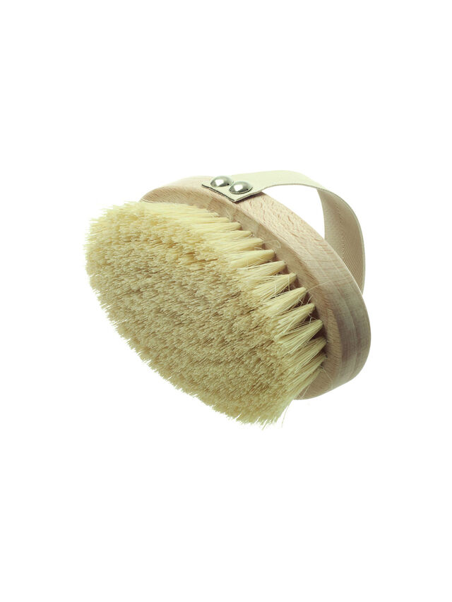 Dry Skin Brush With Cactus Bristle