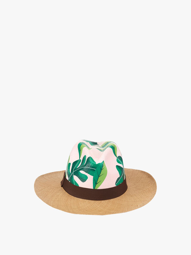 Palm Leaves Hat