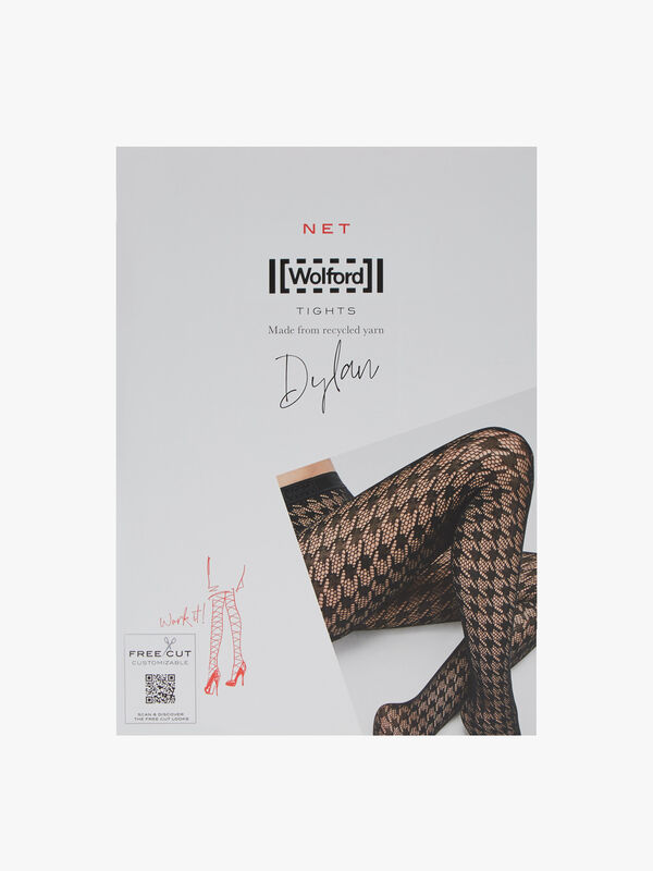 Dylan Houndstooth Tights