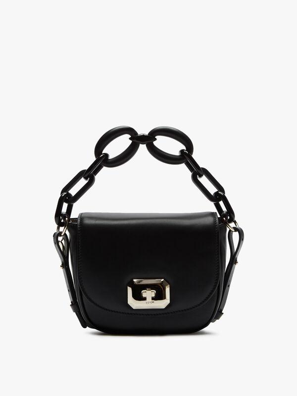 Chain Top Handle Crossbody Bag