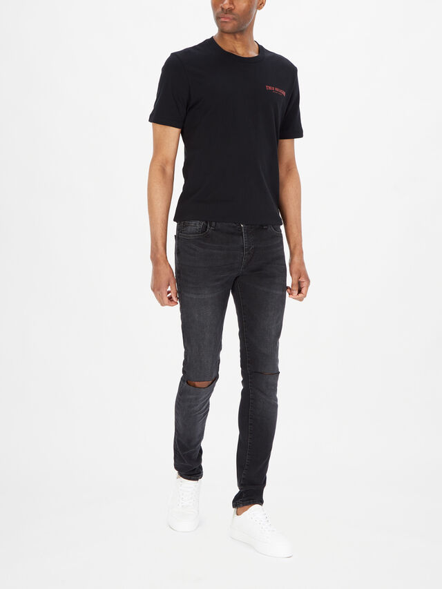 Tony Slit Knee Jeans