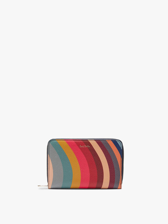 Swirl Medium Zip Purse