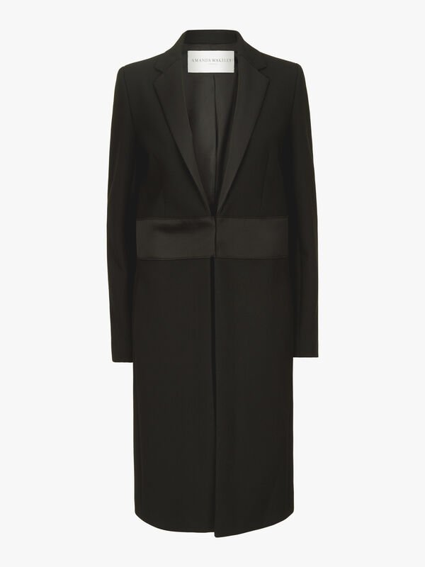 Sculpted Tailoring Coat