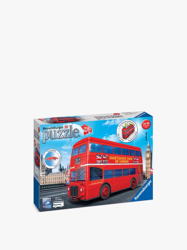 London Bus 3D Jigsaw Puzzle