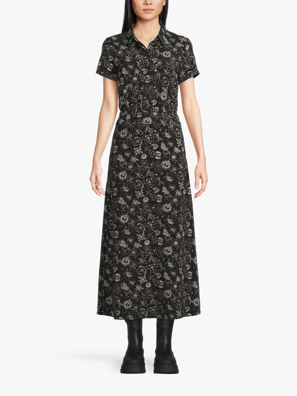 North Sea Spirit Midi Printed Dress