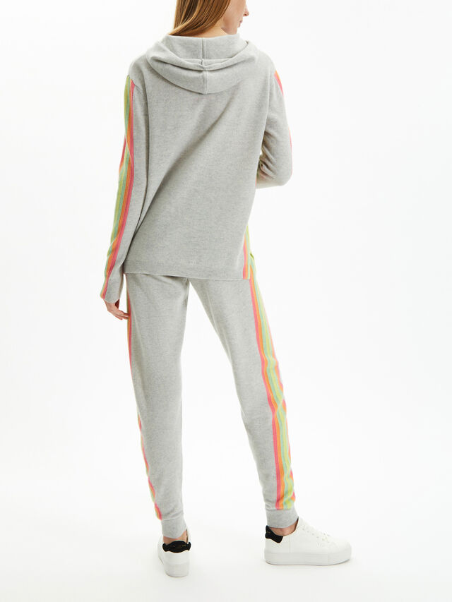 Rainbow Stripe Jogger