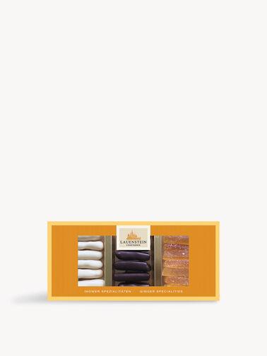 Assorted Dark, White and Ginger Chocolate 100g