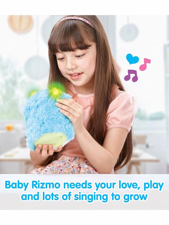 Interactive Evolving Musical Plush - Aqua