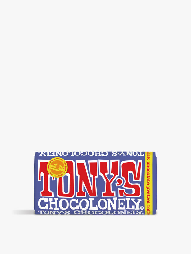 Tony's Milk Pretzel and Toffee Bar