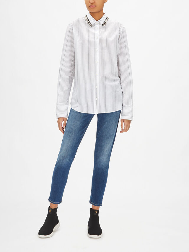 Crystal Collared Shirt