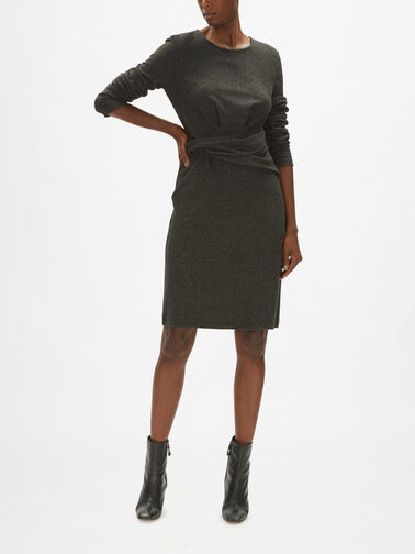 Musette-LS-Herringbone-Dress-w-Twist-Waist-Detail-0001190119