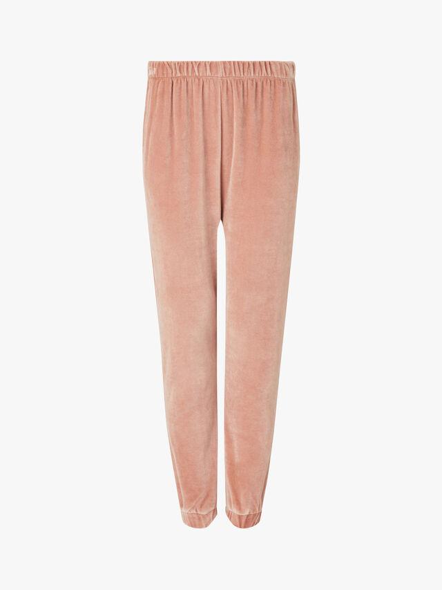 Velvet Oversize Sweat Pants