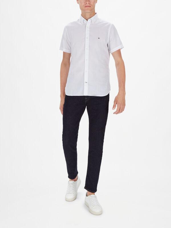 Monogram Slim Fit Short Sleeve Shirt