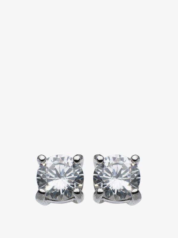 Claw Set Stud Earrings