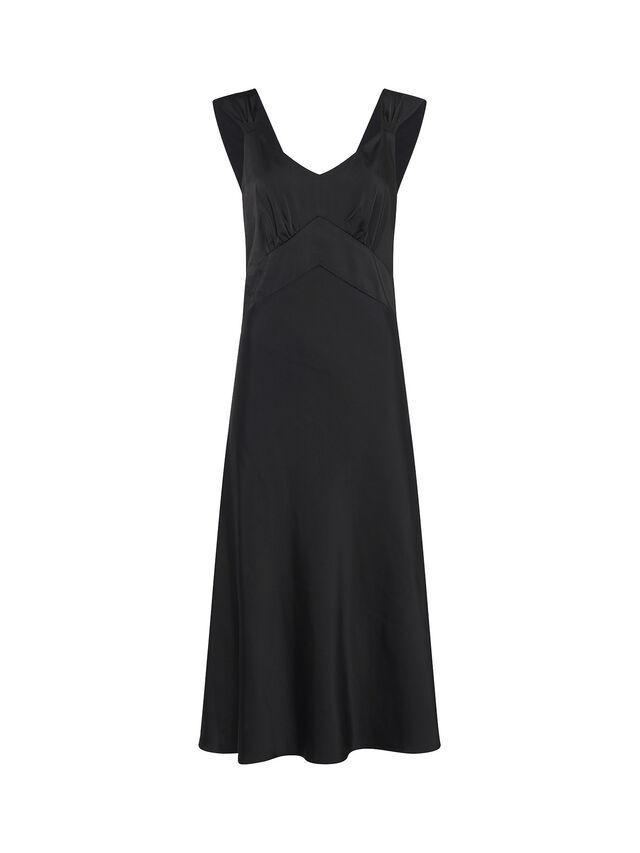 Ilumina Satin Slip Dress