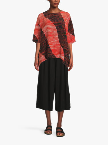 Degana-Line-Print-Drop-Shoulder-Blouse-1003630