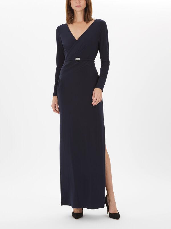 Lilyanna Long Sleeve Evening Dress