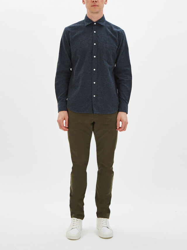 Paul Pinpoint Flannel Shirt