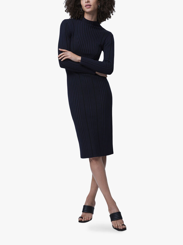 Jolie Knitted Mock Neck Dress