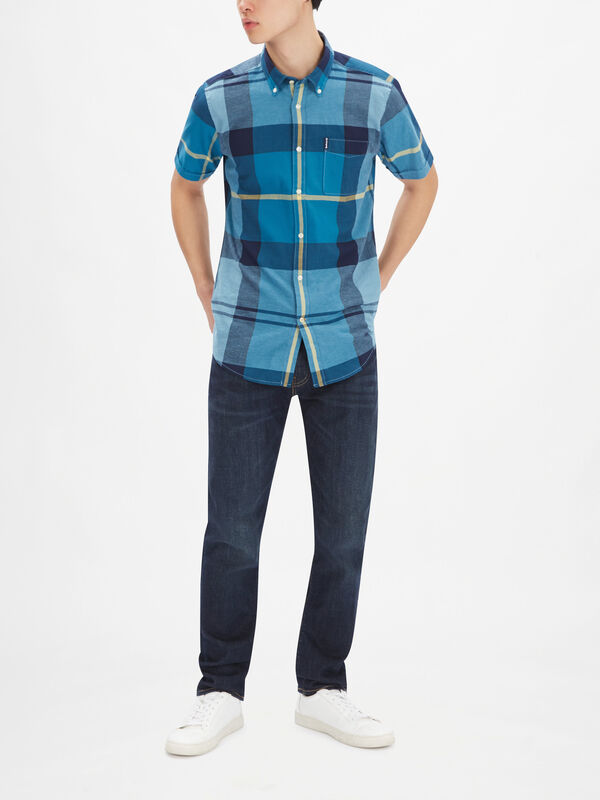 Douglas Tailored Check Shirt