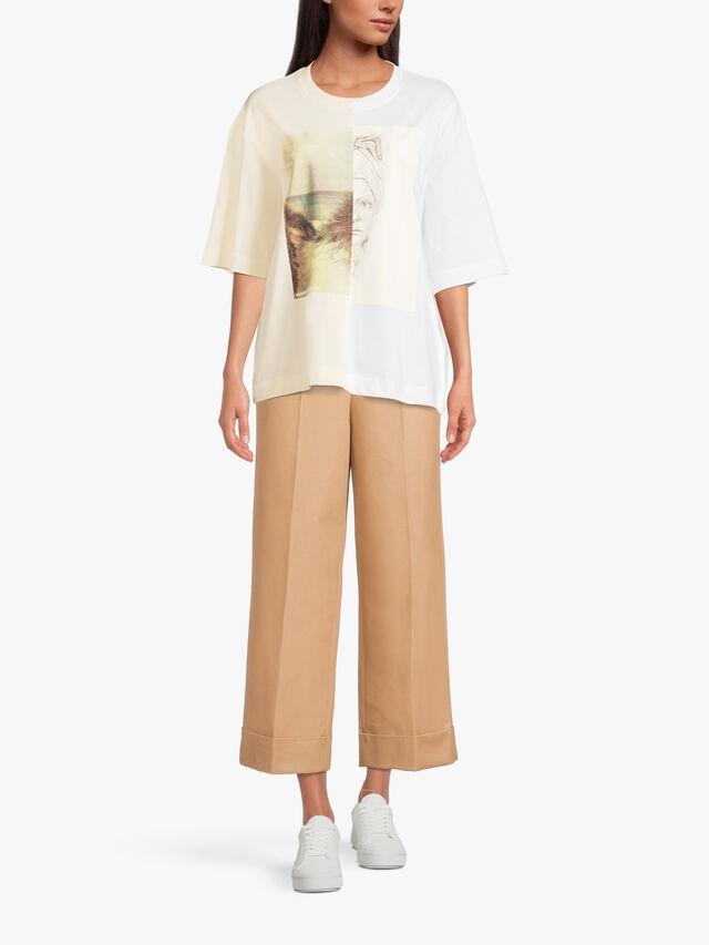 Jillianna Patchwork Tshirt