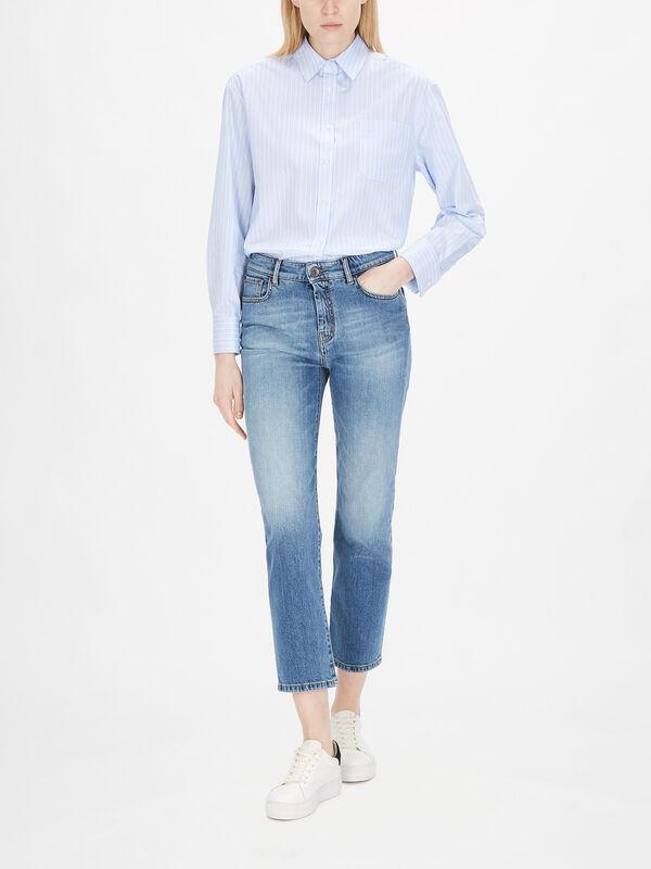 Jardin Cropped Jeans