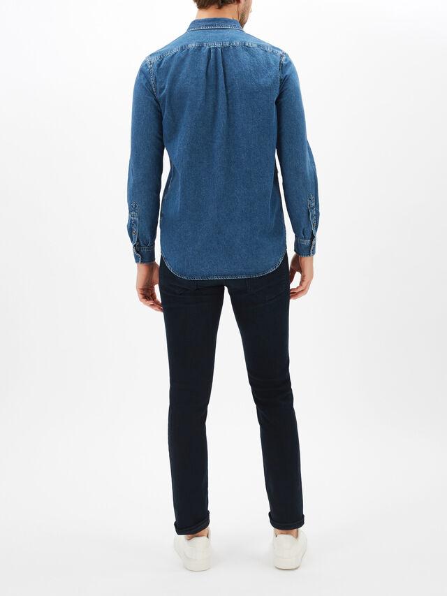 D-Ber-P Denim Shirt