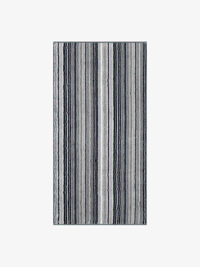 Two Tone Stripe Guest Towel