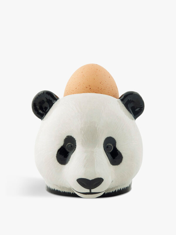 Panda Face Egg Cup Pair