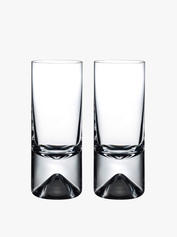 Alba High Ball Glass Set of 2