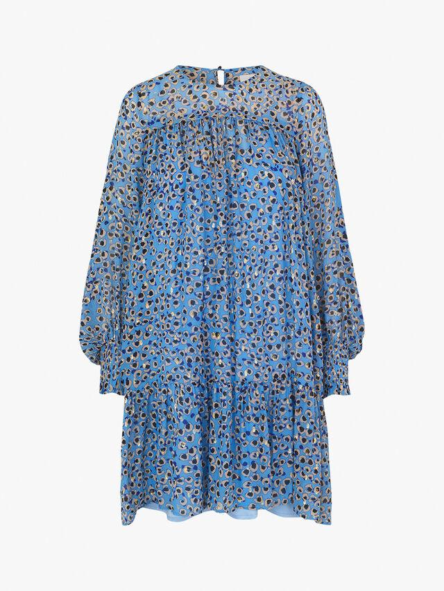 Joelle Puffed Sleeve Dress