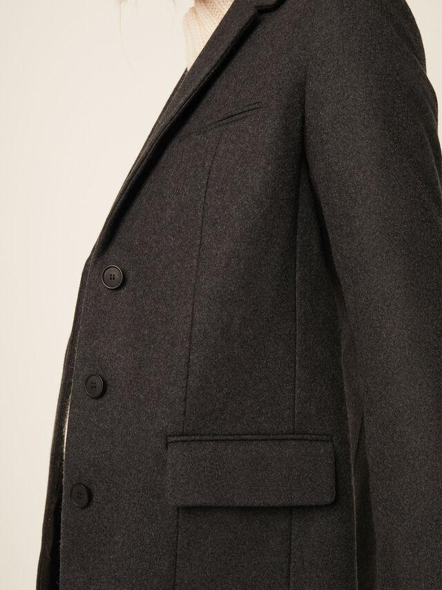 Platform Felt Smart Coat