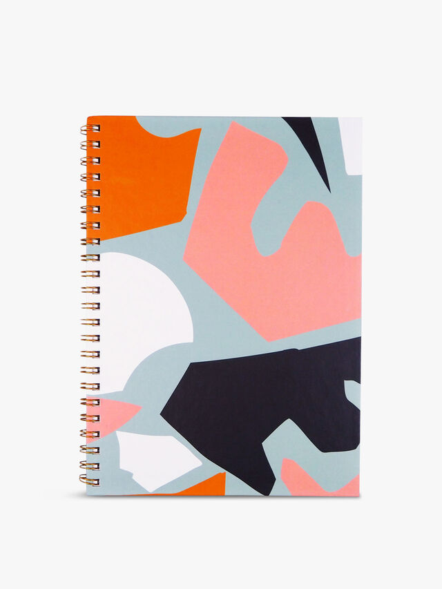 A4 Cut Out Shapes Sketchbook